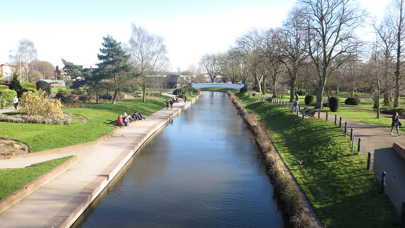 Stafford West Midlands village