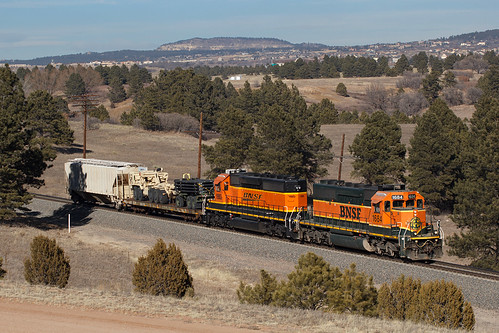 bnsf bnsf1684 emd sd402 usafa colorado jointline airforceacademy pikespeaklocal