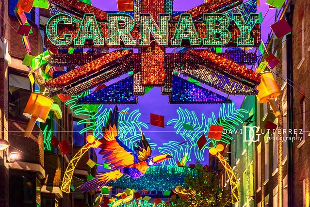 Christmas Carnival II - Carnaby Street, London, UK