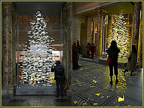 Victoria & Albert Museum Christmas Tree 2017
