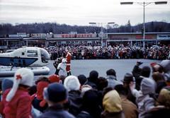 1963 Santa Arrives at the Beach Shopping Center