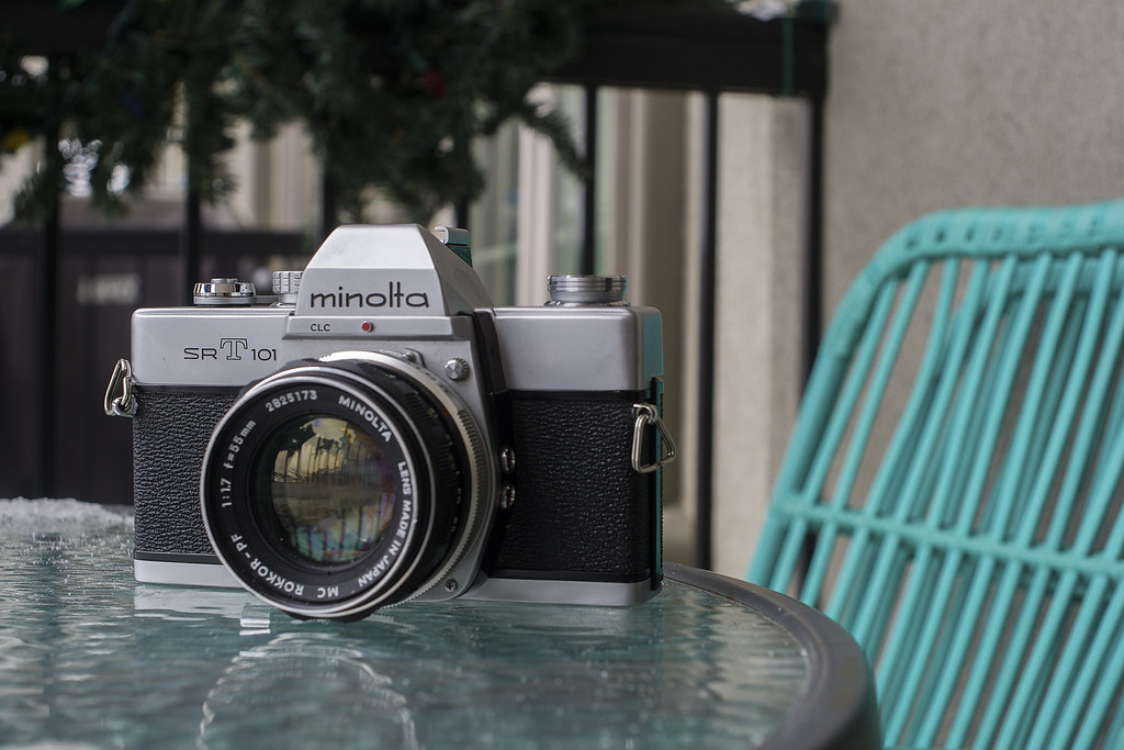 CCR Review 80 - Minolta SRT-101