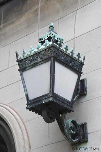 Sconce lantern, Harper Library