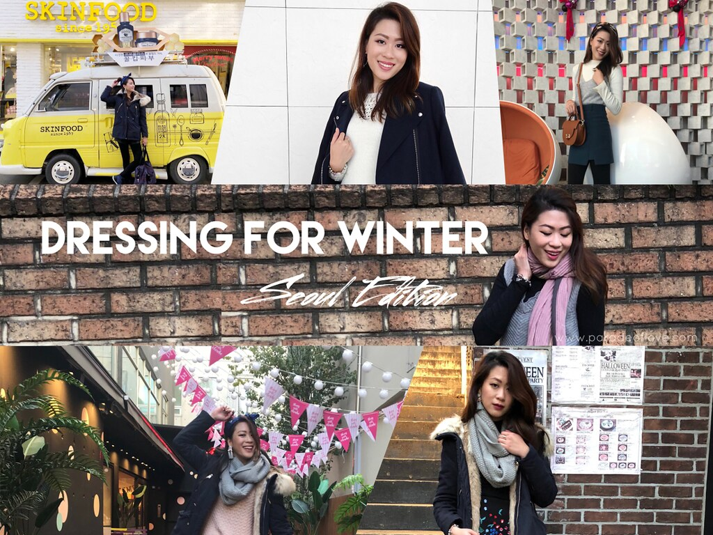 Dressing stylishly for Winter & Style Challenge in Seoul