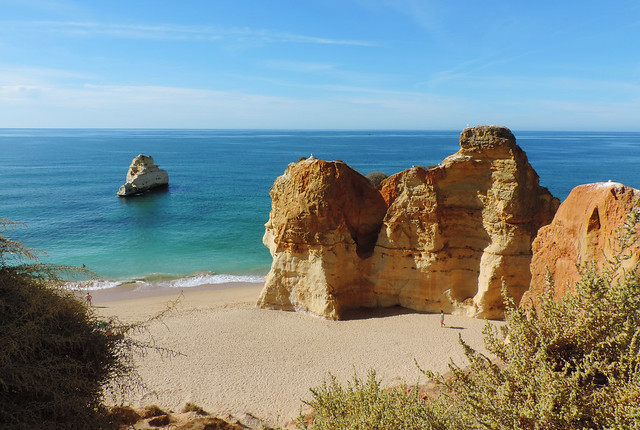 Praia dos Três Castelos, Algarve, Portugal