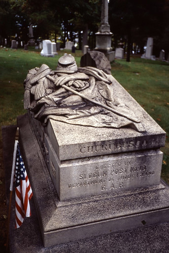 Civil War Veteran, Swan Point Cemetery, Providence - 2001 (5)