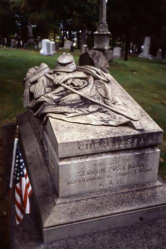 Civil War Veteran, Swan Point Cemetery, Providence - 2001 (5)