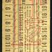 ticket - united auto threehalfpence