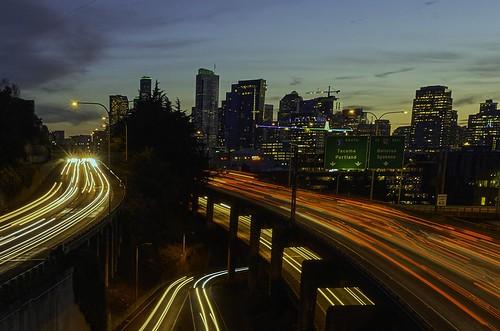 Car Trails | Seattle