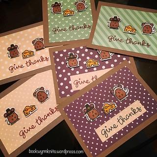 Turkey day cards