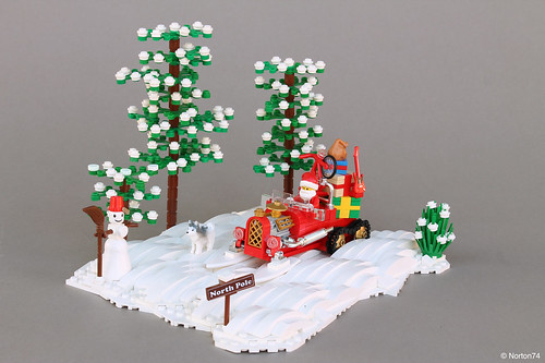 Santa's Hot Rod Sleigh