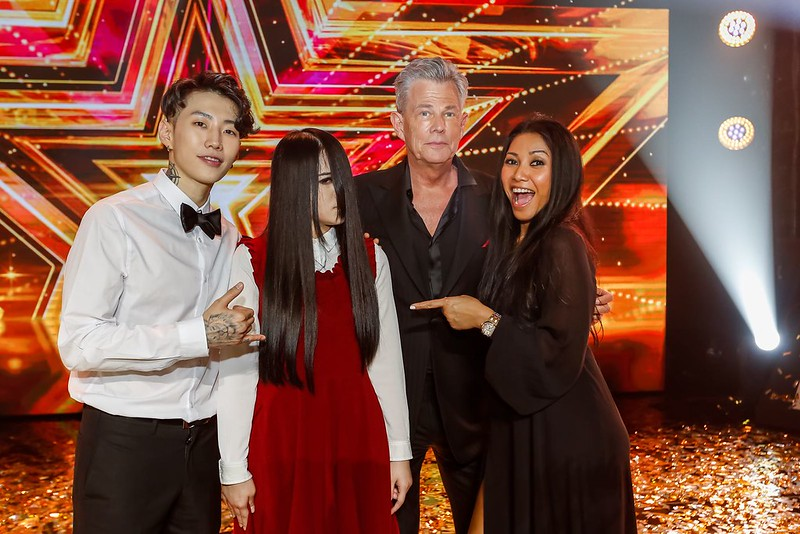 The Sacred Riana_Winner with AGT judges David Foster_Anggun_Jay_Park