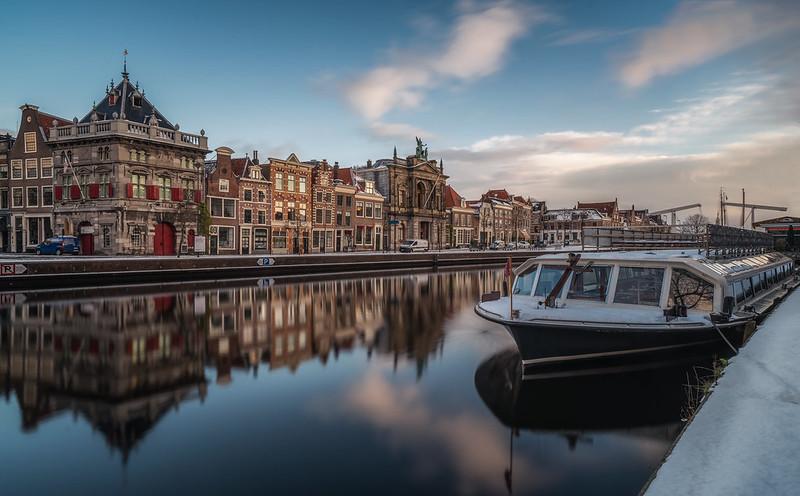 Winter morning, Haarlem
