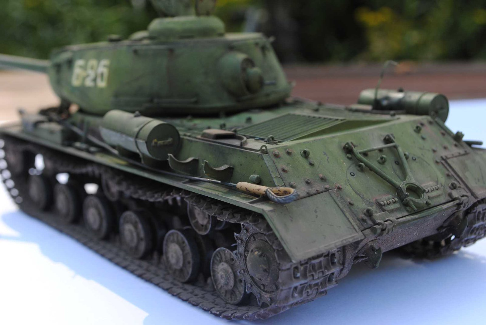 JS-2m ChKZ Production Type by Dragon in 1/35 [Archive