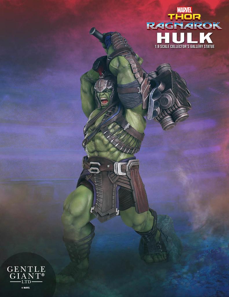 索爾的最強同事!! Gentle Giant Collectors Gallery《雷神索爾3:諸神黃昏》角鬥士浩克 Hulk (Thor:Ragnarok) 1/8 比例全身雕像作品