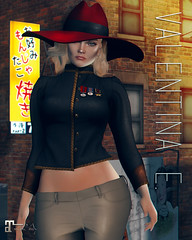 NEW!  Valentina E. Elle Military Jacket GACHA @ The Chapter Four!