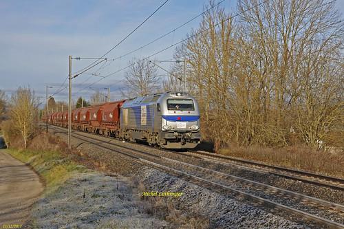Euro 4037-Europorte- Train de Trémies à Retzwiller
