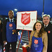 Rep. Rosa Rebimbas (R-70) joined Sen. George Logan (R-17) at the Walmart in Naugatuck for the Salvation Army's annual Red Kettle Campaign. Together, they raise over $5,000, which Walmart has pledged to match dollar for dollar.