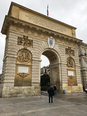 Montpellier: Arc de Triomphe