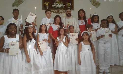1ª comunhão - Santo Cristo