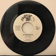 BAD REPUTATION:IS IT LIVE(RECORD SIDE-A)