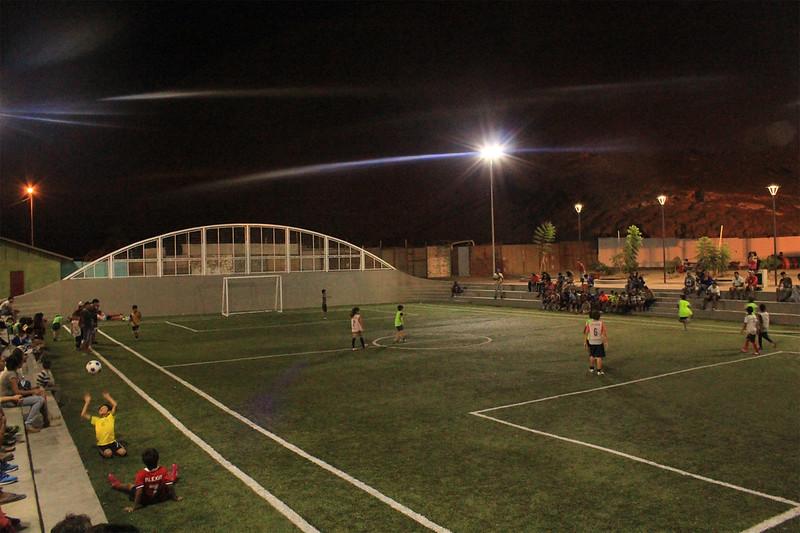 Complejo Deportivo Balmaceda - Barrio José Manuel Balmaceda – Arica
