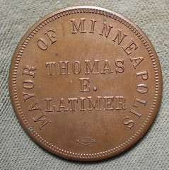 Thomas E. Latimer Christmans token obverse