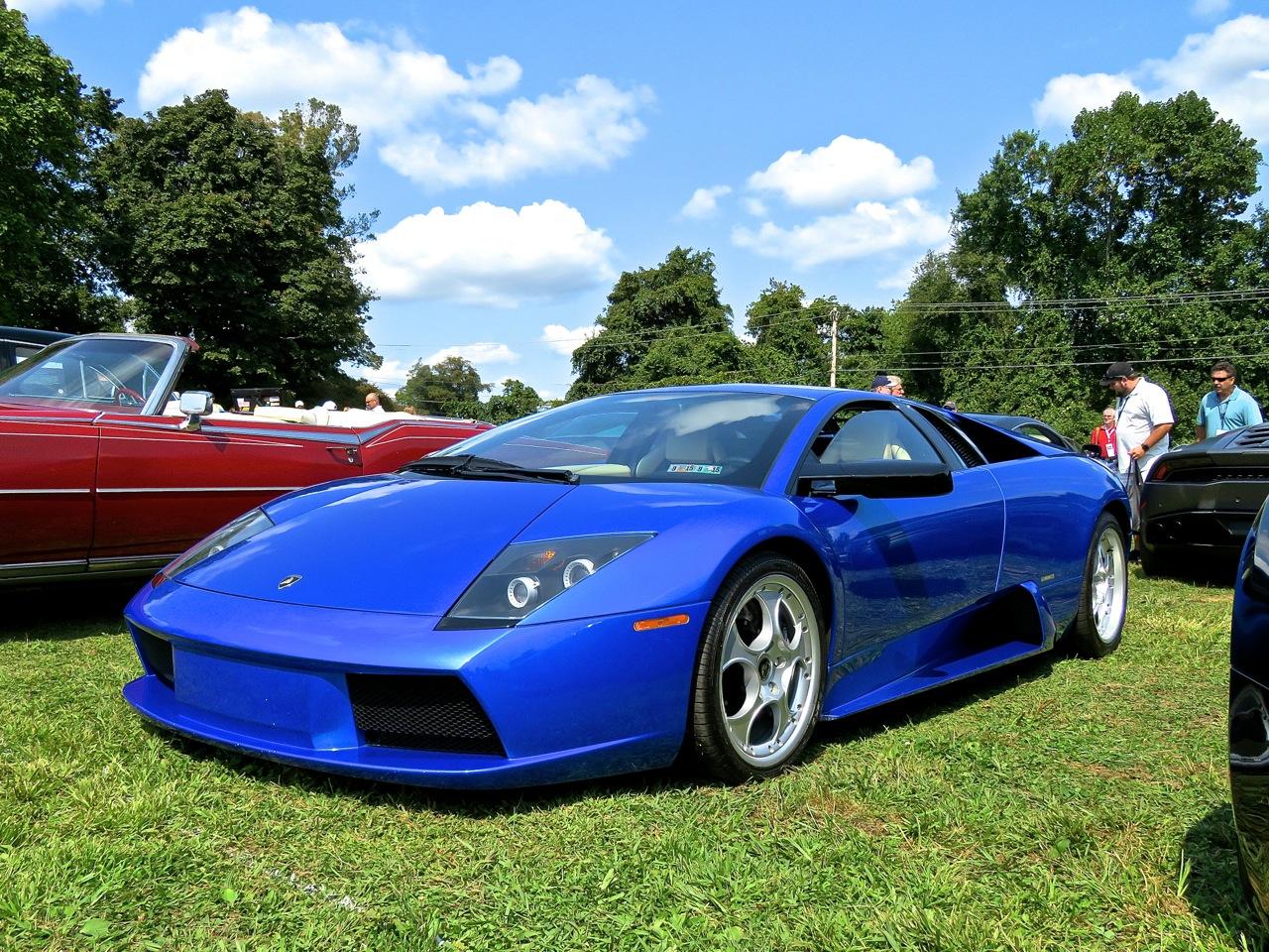 Blue Lamborghini Murcielago Radnor