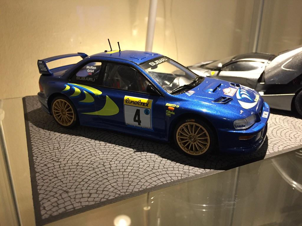 Subaru İmpreza WRC 98 Monte Carlo Tamiya