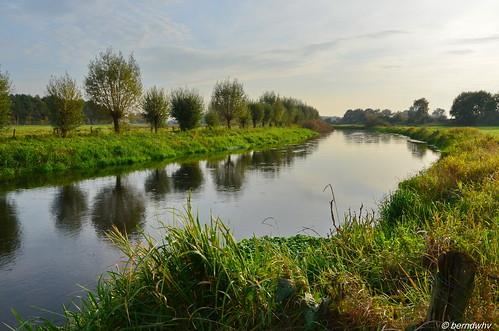 Niederlande / Flusslandschaft an der Niers bei Ven-Zelderheide (2)