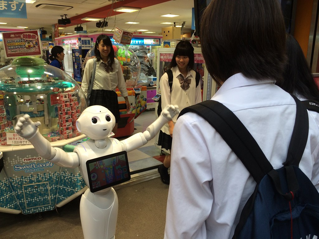 Pepper robot