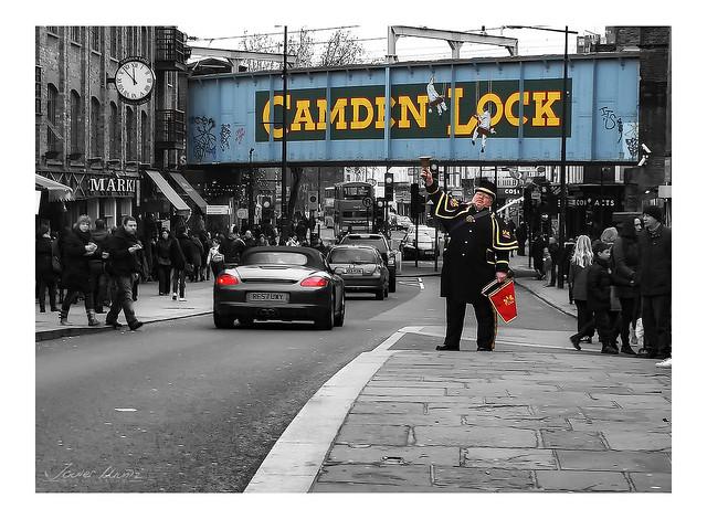 Camden Town crier