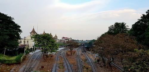 Yangon Hauptbahnhof