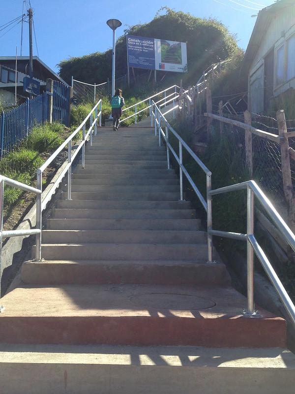 Mejoramiento Escalera y Área verde - Barrio La Vega – Calbuco