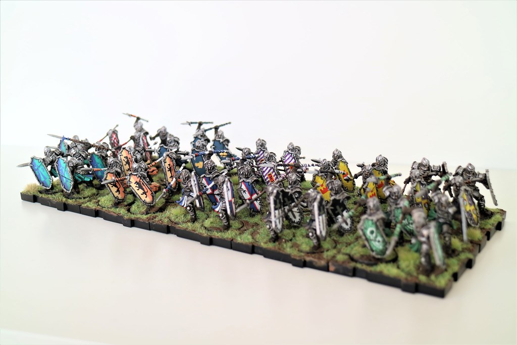 Runewars Miniatures Daqan Spearmen Army