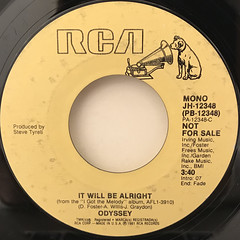 ODYSSEY:IT WILL BE ALRIGHT(LABEL SIDE-B)