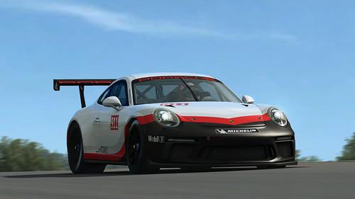 RaceRoom - 2017 Porsche 911 GT3 Cup Front