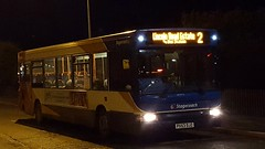 Stagecoach East Midlands TransBus Dart SLF (TransBus Pointer) 34475 PX53 DJZ on route 2 to Newark Bus Station