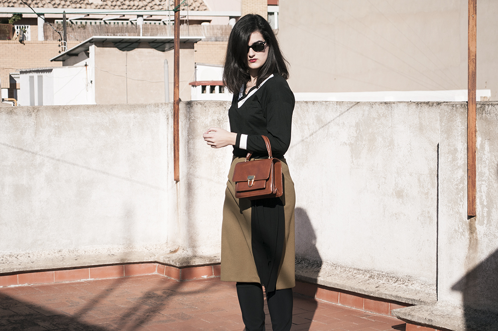 somethingfashion spain firenze italy valencia bloggers outfit shein collaboration blackwhite college sweater_0209