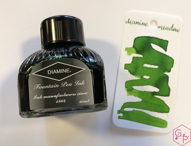Ink Shot Review Diamine Meadow @KnightsWritingC 3