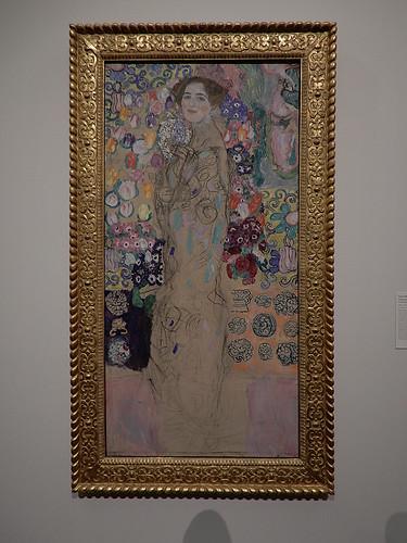 DSCN9960 _ Portrait of Ria Munk III, Klimt, 1917 - Klimt & Rodin