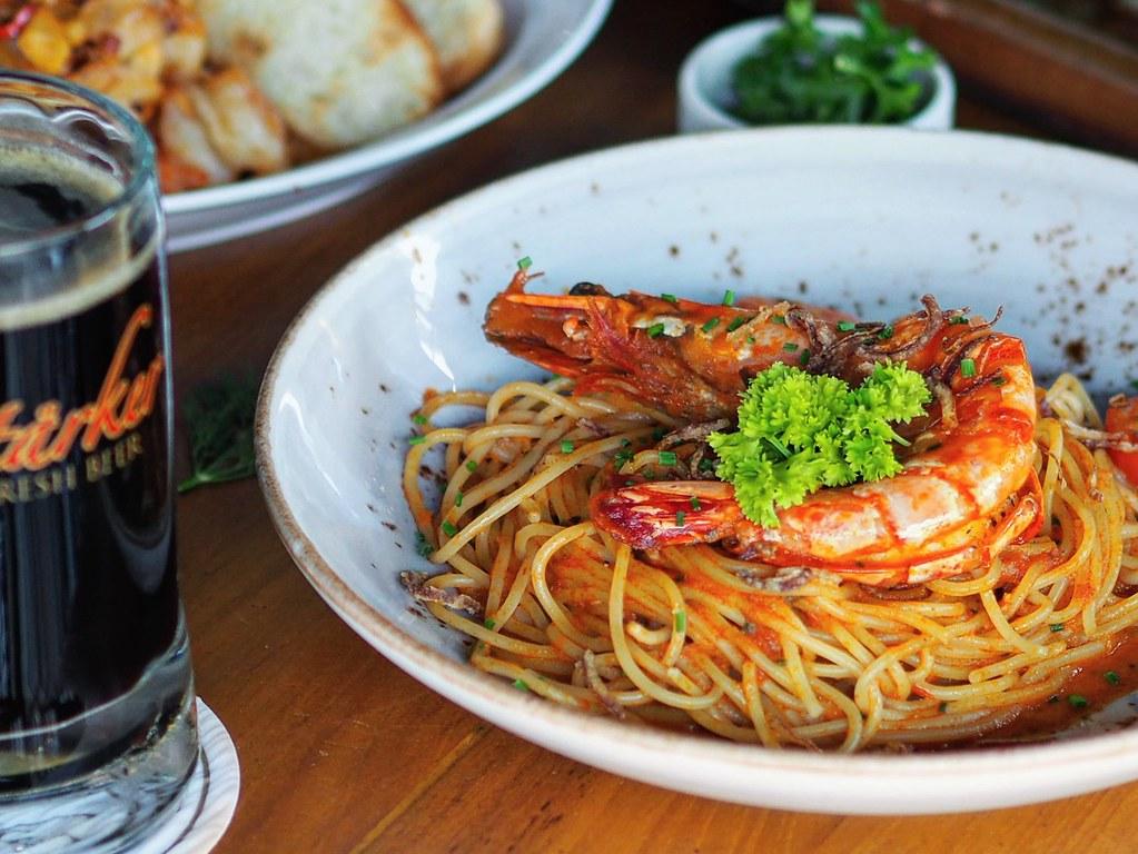 Starker king prawn pasta3
