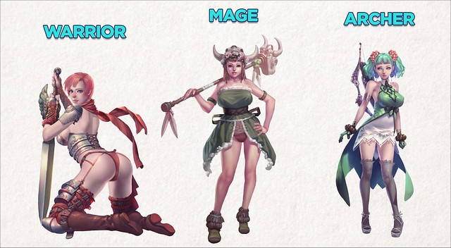 Crystal Maidens - Class Types