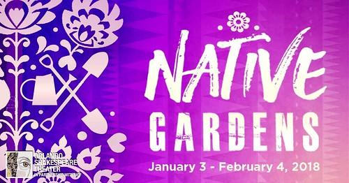 """Native Gardens"" at Shakespeare Center"