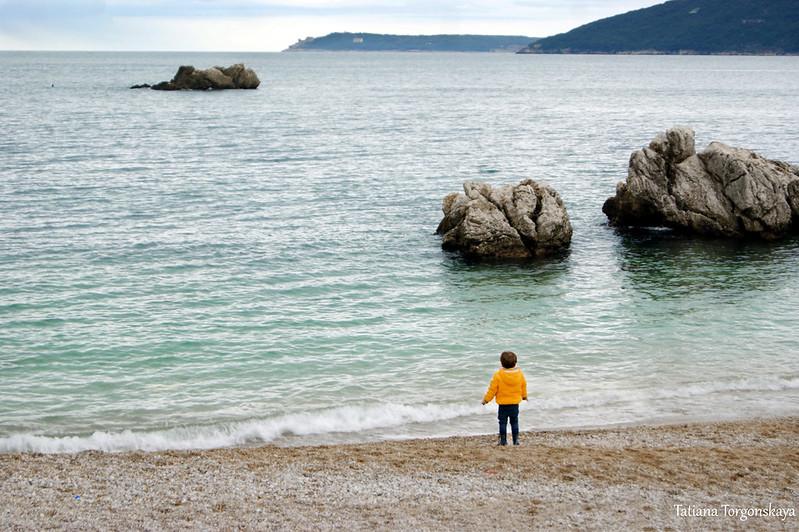 """Пляж """"Žalo"""" 1 января"""