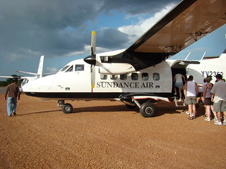 YV-2362 Canaima Airport