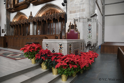 Anticipating Christmas: Rockefeller Memorial Chapel