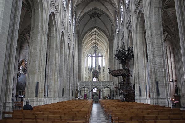 interior iglesia de San Pedro Lovaina Sint-Pieterskerk o Iglesia de San Pedro - 24491262337 1718522834 z - Sint-Pieterskerk o Iglesia de San Pedro