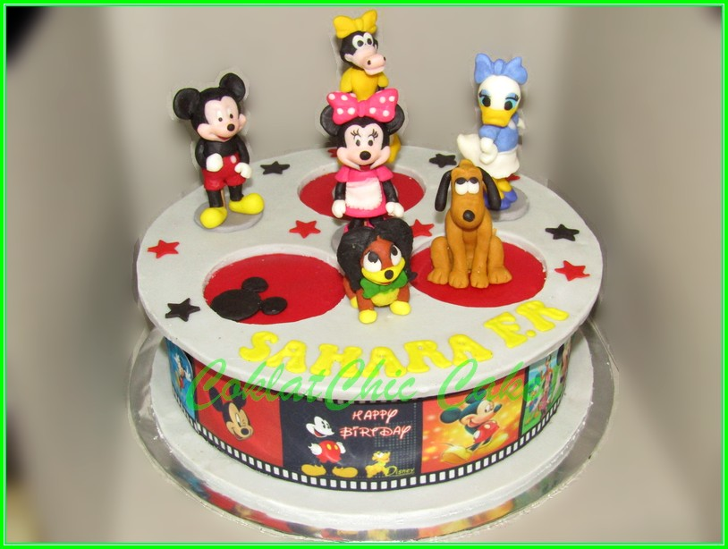 Cake Mickey & Friends SAHARA 20cm
