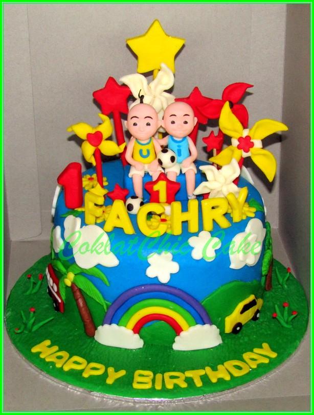 Cake Ipin Upin FACHRY 15cm